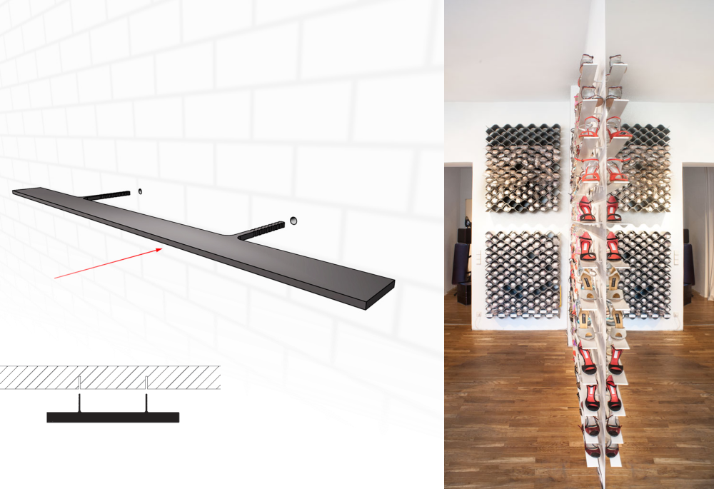 regal f r tanzschuhe mit hohen abs tzen holger jahns berlin details. Black Bedroom Furniture Sets. Home Design Ideas